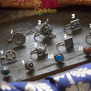 German Silver Nose Pins