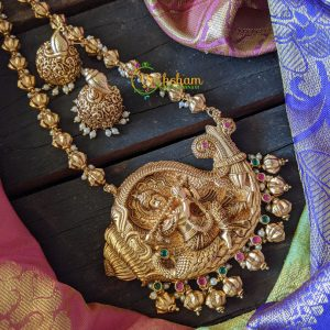 Unique Krishna Pendant Chain