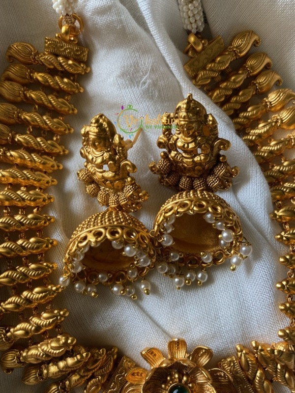 Gold look alike Lakshmi Semi Bridal Set 3