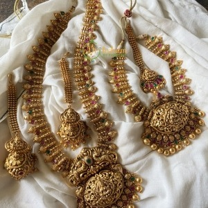 Gold look alike Lakshmi Semi Bridal Set 2
