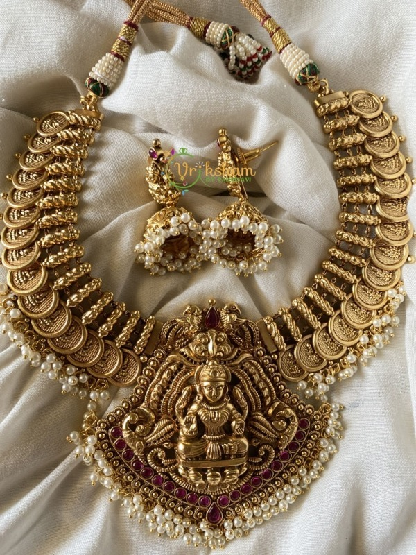 Coin Lakshmi Short - Gold look alike - With jhumkas