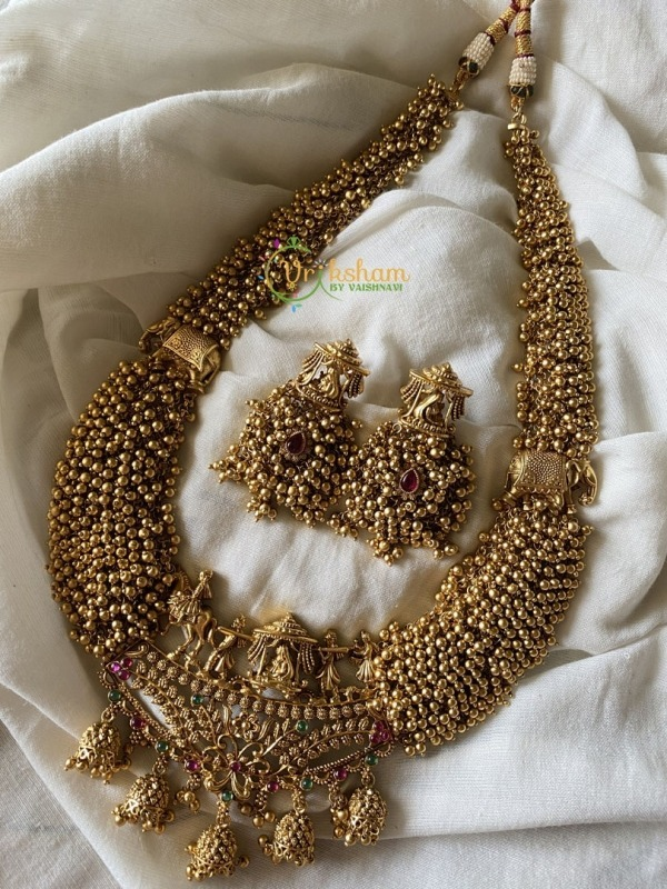 Bridal Procession Long Neckpiece